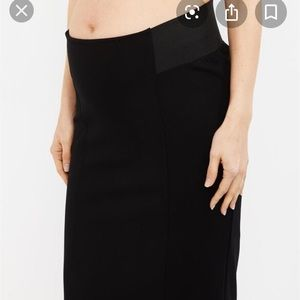 A Pea in a pod maternity under belly pencil skirt